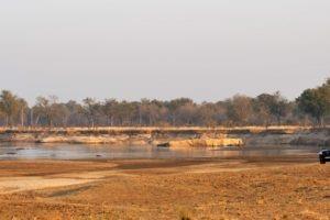 zambia south luangwa game drive safari scenery