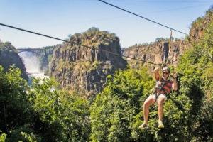 zimbabwe victoria falls canopy adventure tour