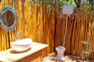 manyara green camp tanzania bathroom toilet