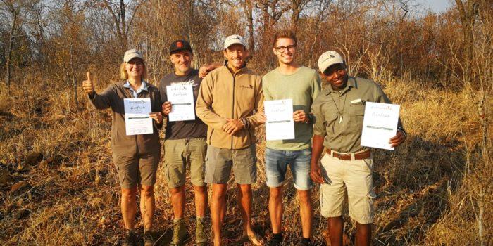 Zimbabwe FGASA training passed Ecotraining