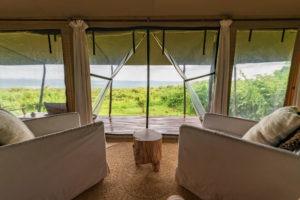 entamanu ngorongoro bedroom view