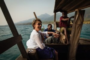 greystoke mahale dhow guest