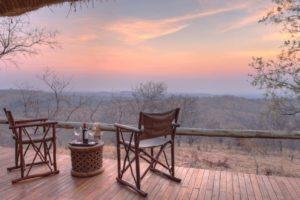 ikuka camp ruaha room view