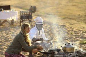 kichaka ruaha breakfast fire