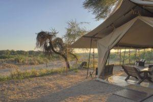 kichaka ruaha dining tent view