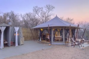 kichaka ruaha guest tent exterior