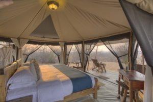 kichaka ruaha guest tent interior