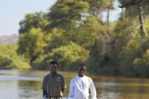 kichaka ruaha river staff