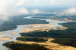 sand rivers selous landscape