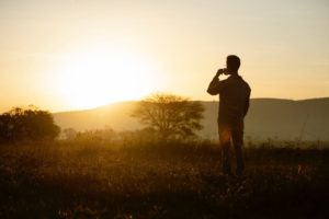 serengeti safari camp guest coffee