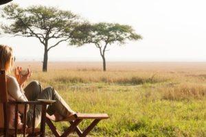 serengeti safari camp guest view