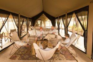 serengeti safari camp guests lounge
