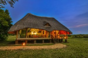 bakers lodge uganda outdoor cottage