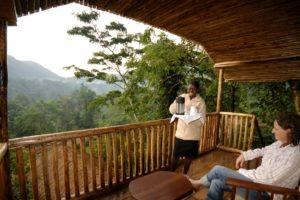 buhoma lodge uganda balcony