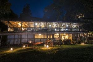 buhoma lodge uganda night