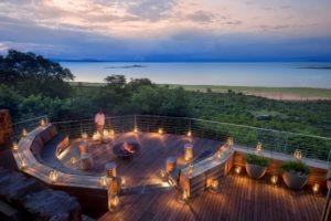 bumi hills safari lodge fireplace
