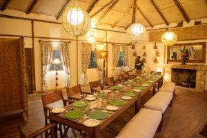 bwindi lodge uganda dining