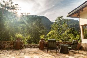 bwindi lodge uganda sunrise