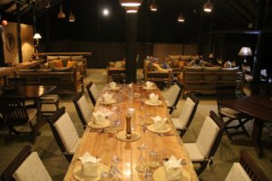 ishasha wilderness camp uganda dining