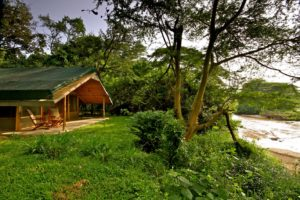 ishasha wilderness camp uganda tent exterior
