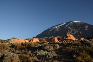kilimanjaro climbing summit camp
