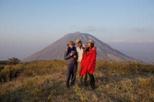 rift valley trekking tanzania sundowners