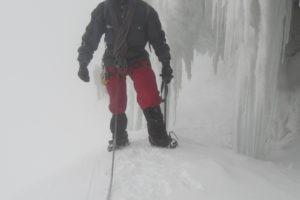 rwenzori trekking uganda glacier 1