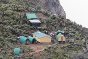 rwenzori trekking uganda hunwicks camp 1