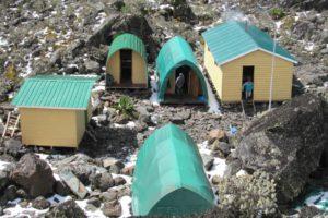 rwenzori trekking uganda margherita new huts 1