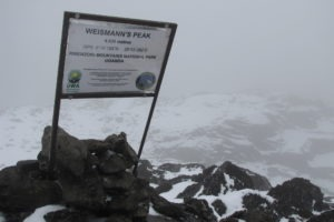 rwenzori trekking uganda weismans peak 1