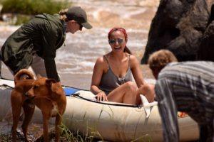 Happy rafting
