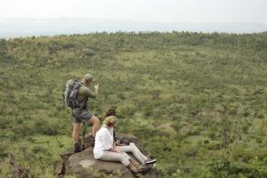 Naboisho Camp walking safari