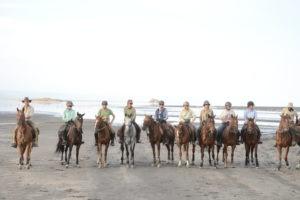 Natron Flamingo Ride riders