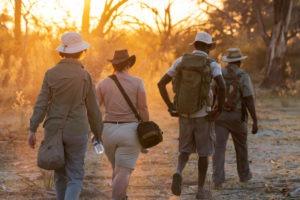 walking safaris botswana okavango delta okwa
