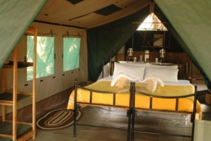 1 Tent inside
