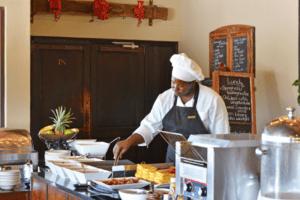 Erindi Old Traders kitchen