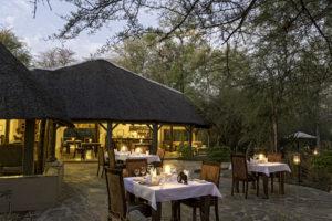 Onguma Etoscha Aoba dining area outdoor