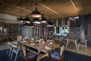 zambia livingstone thorntree river lodge indoor dining