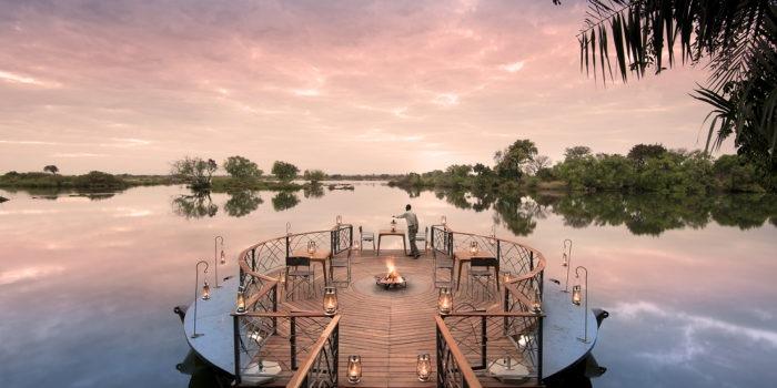 zambia livingstone thorntree river lodge sunken deck